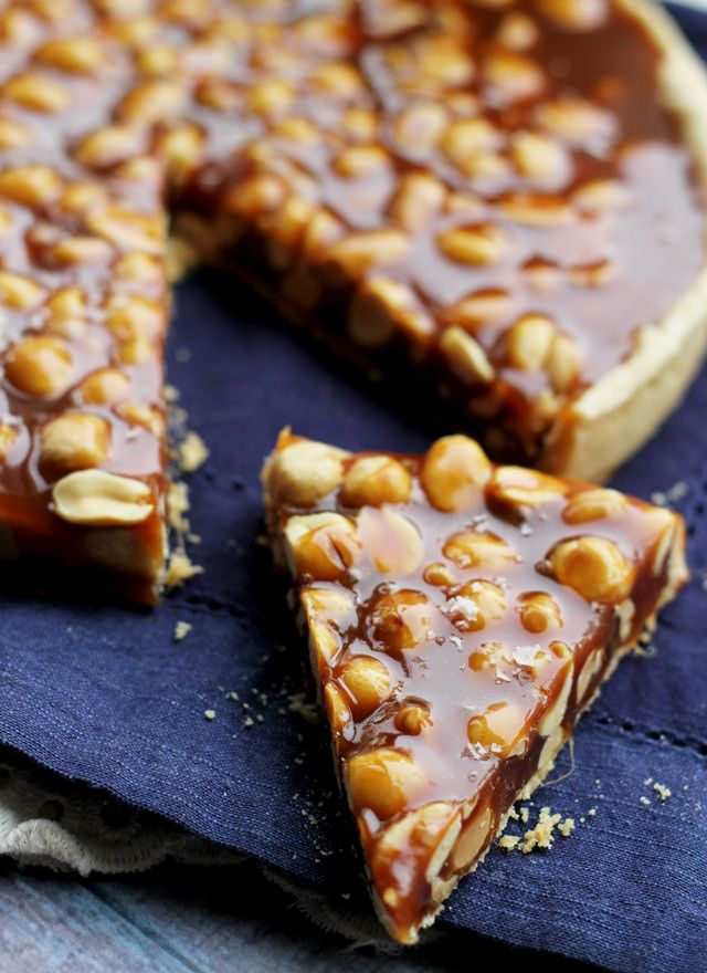 salted caramel peanut pie 2