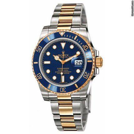 Rolex Submariner Blue Caldiero Italy - JamesEdition.com