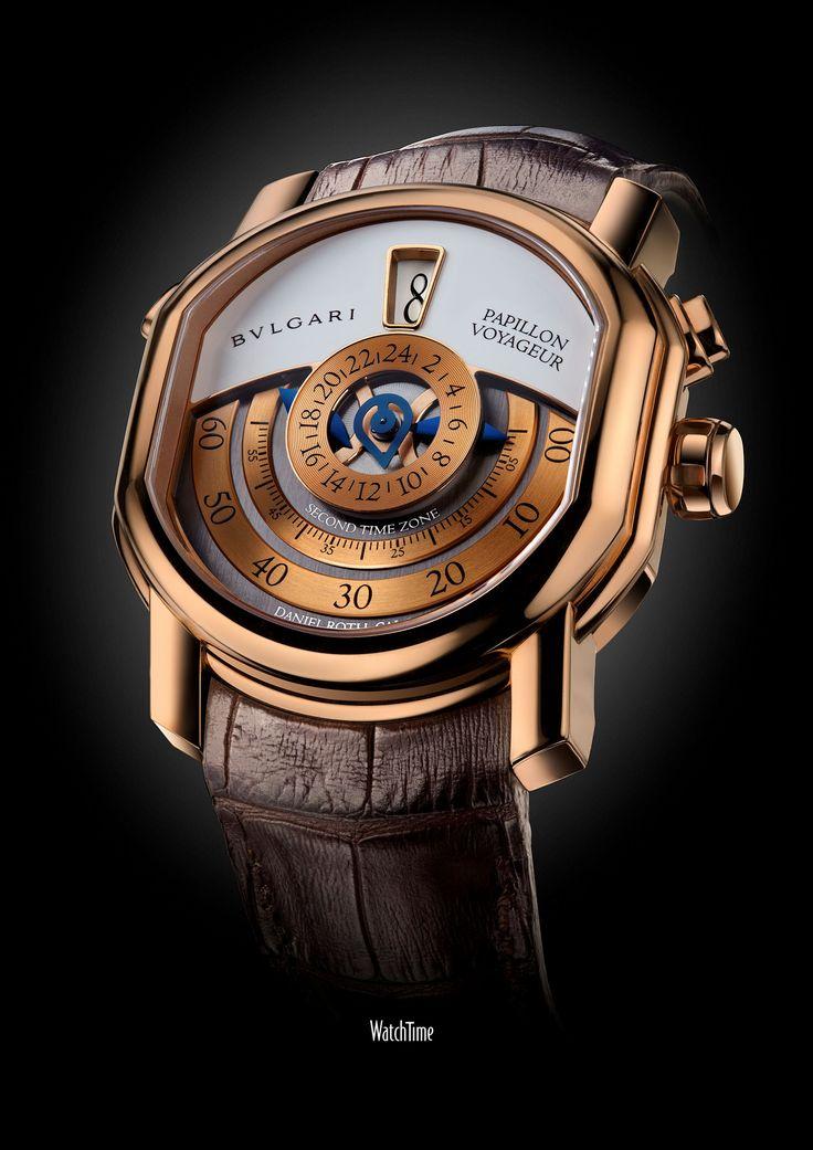 papillon_voyageur_ La edición está limitada a 99 unidades, a un precio de 40.285 €. Un reloj sofisticado y refinado, auténticamente sibarita.