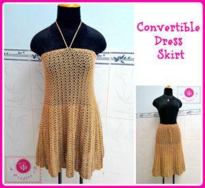crochet dress skirt