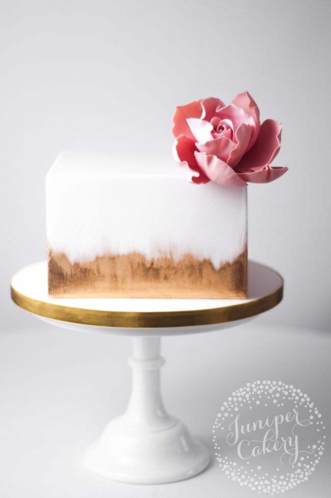 Learn How to Cover a Square Cake in Fondant the Easy Way