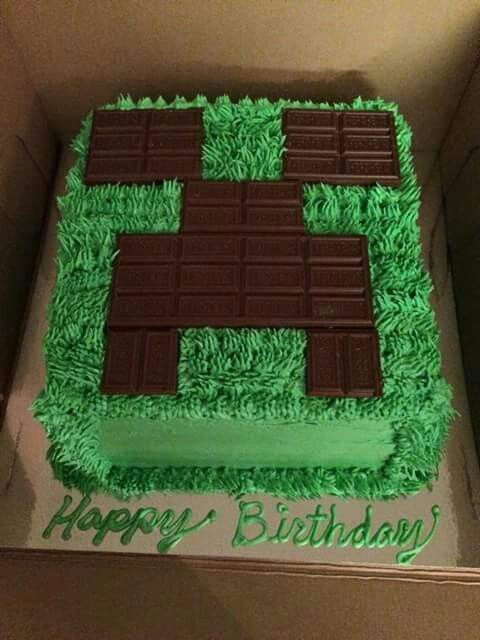 Minecraft Birthday Cake Photos