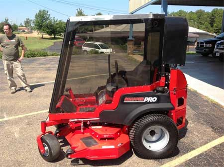 Green Cab Madison >> This air-conditioned lawnmower is a recent invention meant ...