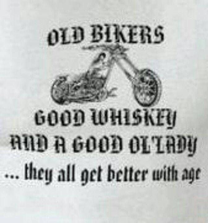 Old bikers