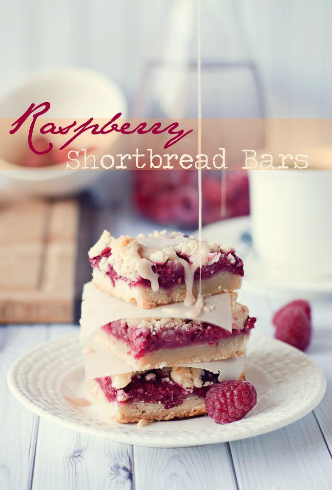 Guest Post: Mrs Three in Three | Raspberry Shortbread Bars - Naturipe Farms Berries