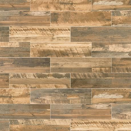 distressed oak pr24 color body porcelain wood look floor and wall tile