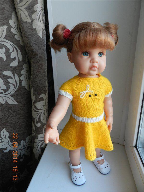 Вязаная история. Часть вторая - Куклы в обновках / Одежда и обувь для кукол - своими руками / Бэйбики. Куклы фото. Одежда для кукол