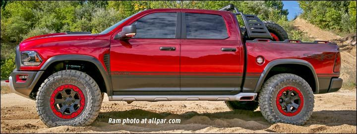 17 Dodge Ram Rebel TRX concept