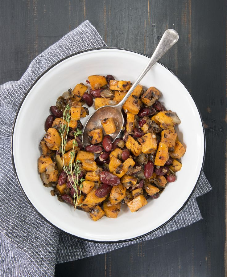 Red Bean and Sweet Potato Hash