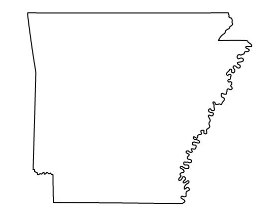 Arkansas pattern. Use the printable outline for crafts, creating stencils, scrapbooking, and more. Free PDF template to download and print at http://patternuniverse.com/download/arkansas-pattern/