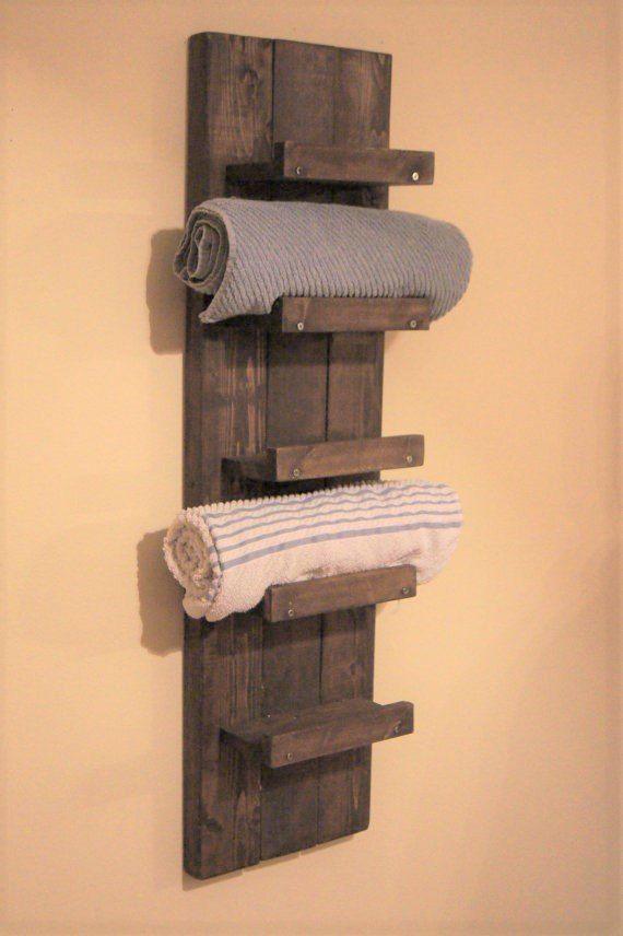 41 Inspirations Bath Towel Storage Racks Ideas Daily Home List Diy Towel Rack Bath Towel Storage Pallet Bathroom