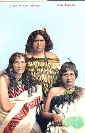 group Maori women