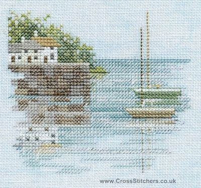 Quayside - Minuets - Cross Stitch Kit from Derwentwater Designs