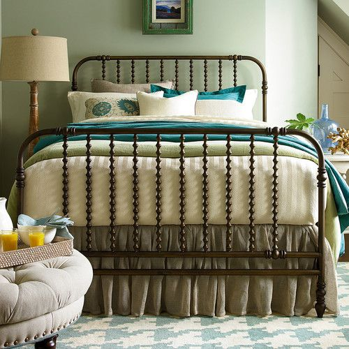 Found it at Wayfair - River House Metal Panel Bed