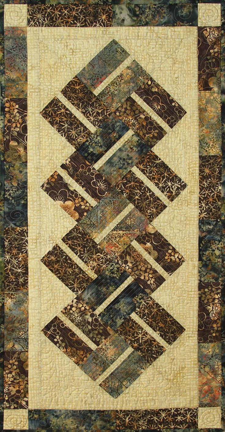 1198 best Quilts: Table Runners/Wall Hangings/etc. images on Pinterest Table runners, Quilt ...