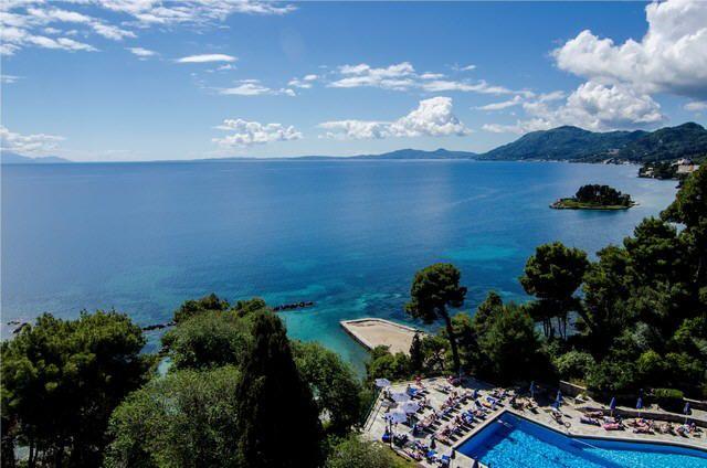 Séjour Corfou Promoséjours, promo séjour Hôtel Corfou Holiday Palace 5* à Kanoni prix promo séjour Promoséjours à partir 584,00 € TTC au lieu de 1 229 €