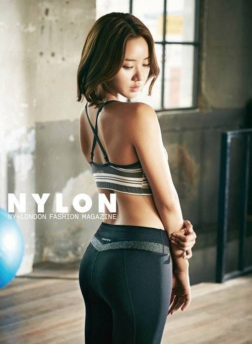 Han Groo is sporty and fit in 'Skechers' for 'Nylon' magazine | http://www.allkpop.com/article/2014/08/han-groo-is-sporty-and-fit-in-skechers-for-nylon-magazine