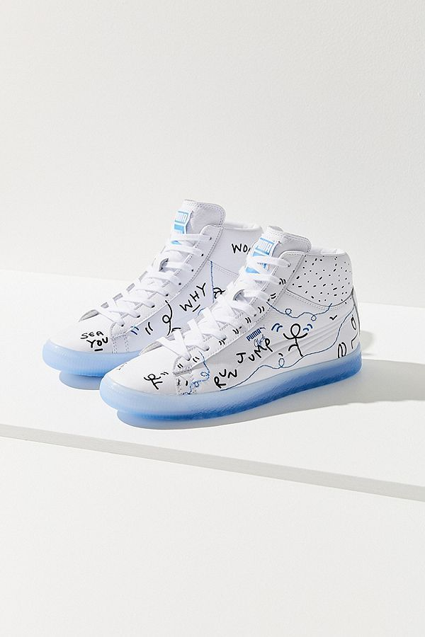 size 40 e02b9 ce66f Puma X Shantell Martin Clyde Mid Top Sneaker | Clothing for ...