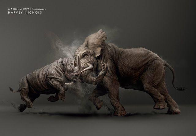 "Agency: YR Dubai | BRONZE LION - PRESS CRAFT (Art Direction) | BRONZE LION - PRESS CRAFT (Illustration) | Harvey Nichols ""Maximum Impact"""