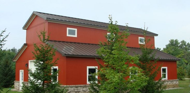Saginaw Mi Barn Standingseam Roof Metal