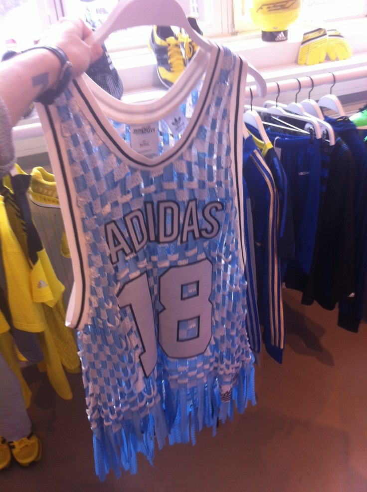 Basketball-top by Jeremy Scott for Adidas.