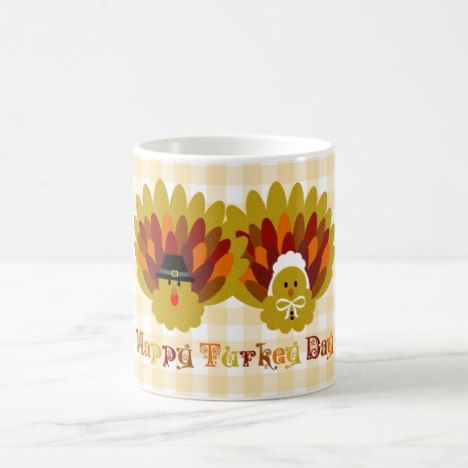 Happy Turkey Day Coffee Mug