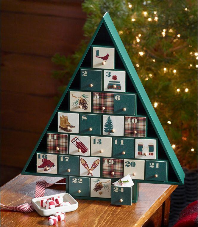 woodland advent calendar in 2020  wooden advent calendar