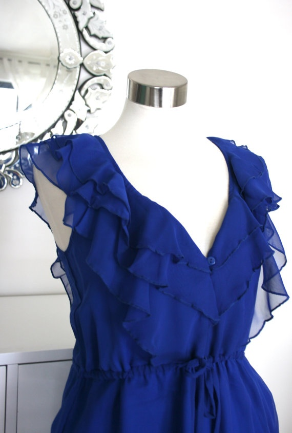 Another beautiful dress by Seven Blooms on Etsy! On Sale too $80, such a beautiful dress for summer / bridesmaids / anyday!