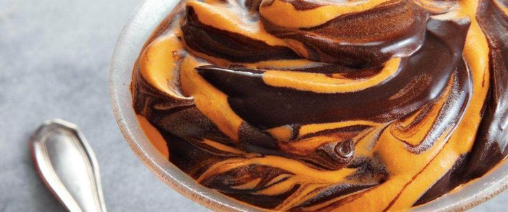 Enjoy this Halloween pudding that's made with Betty Crocker® orange gel food color and dark chocolate - a perfect dessert.