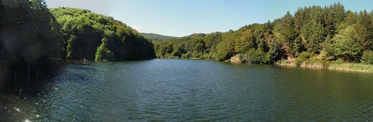 Lago diga Ferdinandea, Stilo, Calabria