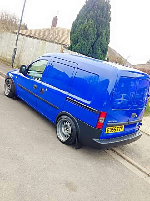 Vauxhall Combo On Banded Steels Vans Vans Cars
