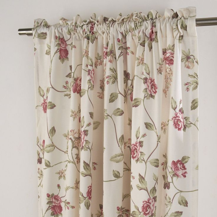 Print Flower Country Energy Saving Curtain  #floral #curtains #homedecor #interiordesign