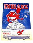 #lastminute  1959 Cleveland Indians Baseball Program Detroit Tigers Tickets Cavaliers Ofr #deals_us