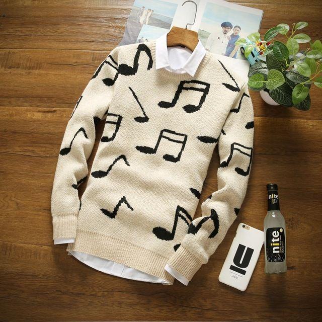 2016 de La Moda Hombres Suéter de Cachemira de Cuello Redondo de Manga Larga Para Hombre de los Suéteres de Lana Suéter Ocasional Hombres Nuevo Diseño Suave Y Cálido