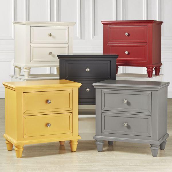 IQ KIDS Preston 2-drawer Side Table Nightstand