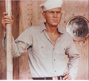 Steve McQueen as Jake Holman in The Sand Pebbles