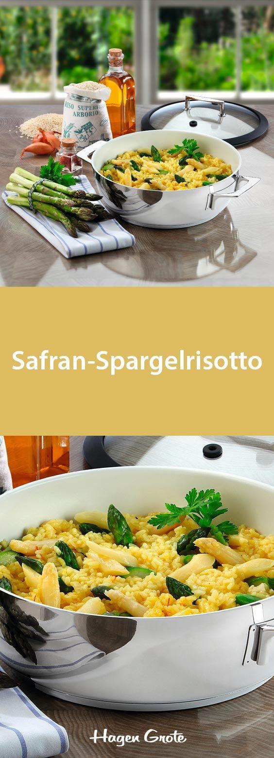 Safran-Spargelrisotto