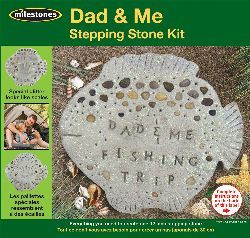 Dad & Me Stepping Stone Kit- - ValuCrafts.com
