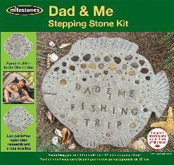 Dad & Me Stepping Stone Kit- - ValuCrafts.com