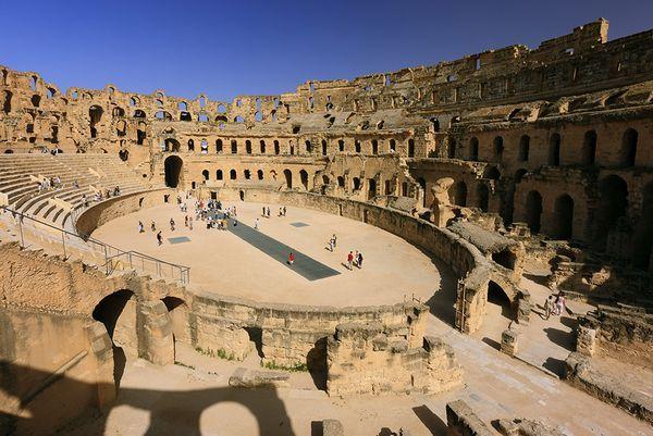 Tunisia, Roman ruins