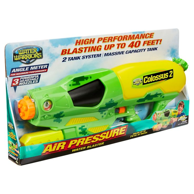Buzz Bee Toys Water Warriors Colossus 2 Water Blaster