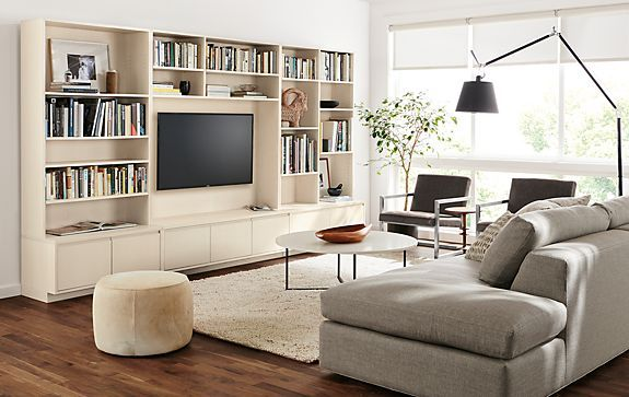Keaton Bookcases Living Room - Living - Room & Board