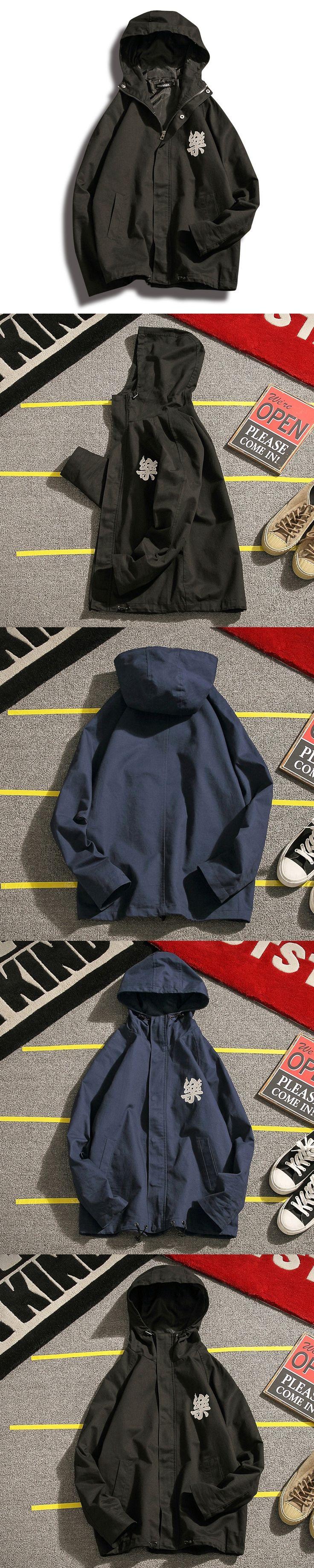 2017 Time-limited Promotion Jaqueta Masculino Jacket Men', Jacket, Young Man, Thin Coat, Vintage, Embroidery, Baseball Dress