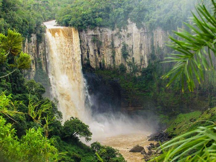 Salto São João - 80 m - Prudentópolis: A terra das cachoeiras gigantes - Desviantes