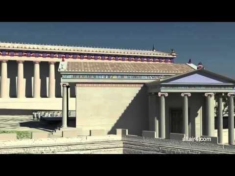 Ancient Acropolis 3D presentation - YouTube