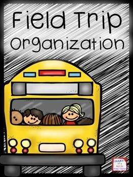 Lots of handy forms to make field trips simpler to plan and organize!