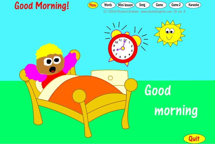 Good Morning Sunshine Animated : Animated image good morning with sun rise