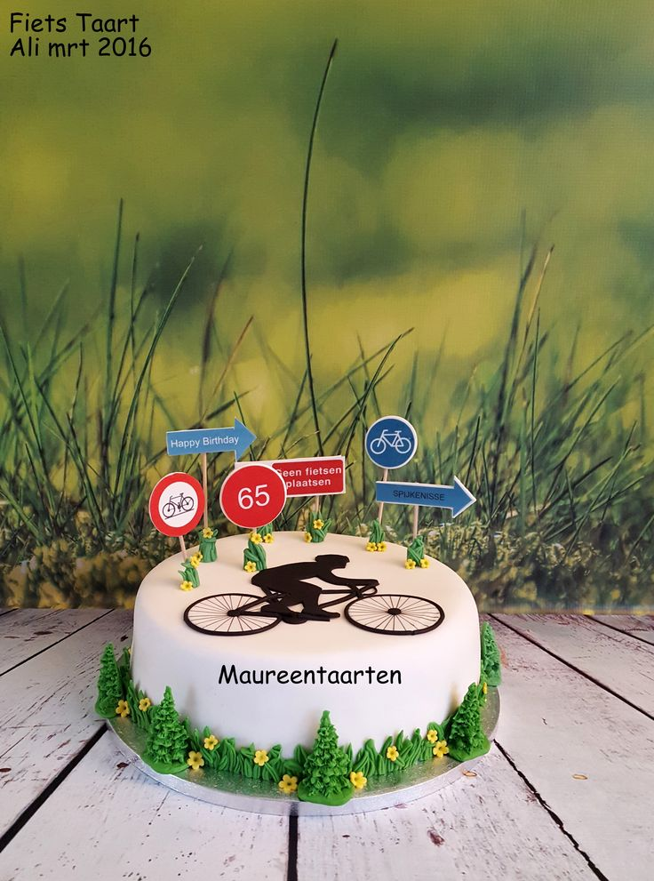 Bycicle cake Fiets taart