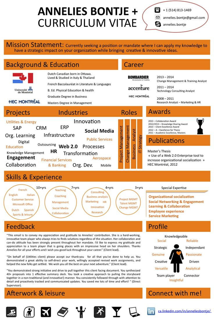 draft my infographic cv skills orange curriculum vitae web 2 - Draft Curriculum Vitae