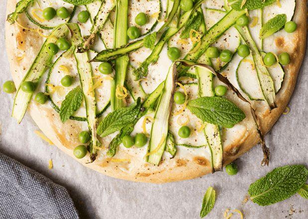 Recepten Inspiratie Lichte Lentepizza Met Groene Asperges  https://play.google.com/store/apps/details?id=com.jodev.recepteninspiratie
